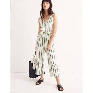 NWOT Madewell Striped Pull-On Jumpsuit XXS